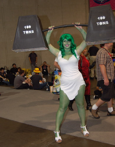 Comic Con 2010: She Hulk