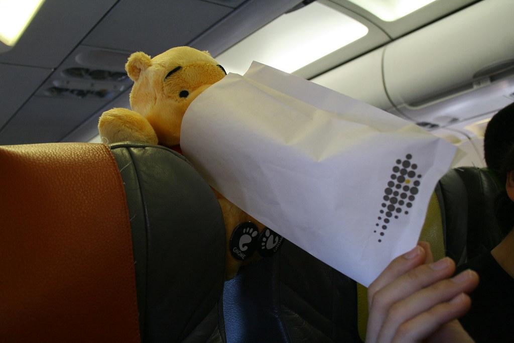 Mareo en el avión