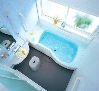 Remodel Small Bathroom with INAX Modern Minimalist Design