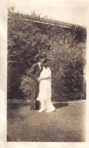 george and ruth wedel, married august 2, 1930