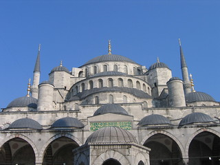 The Blue Mosque, Istanbul, on the Golden Eagle Danube Express on the Jewels of Persia route to Tehran