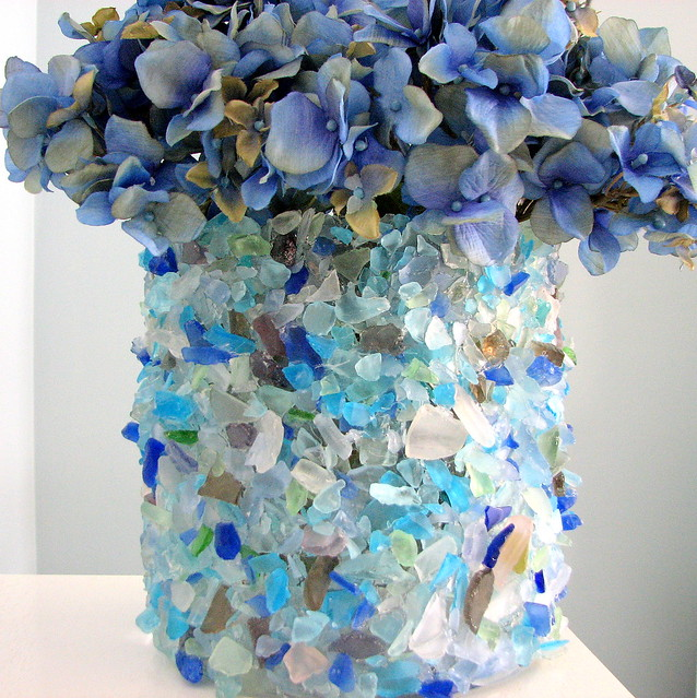 Sea Glass Vase