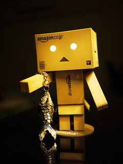 Danbo Loves Fish