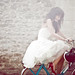 Ines & her Solex by Laurent Nivalle