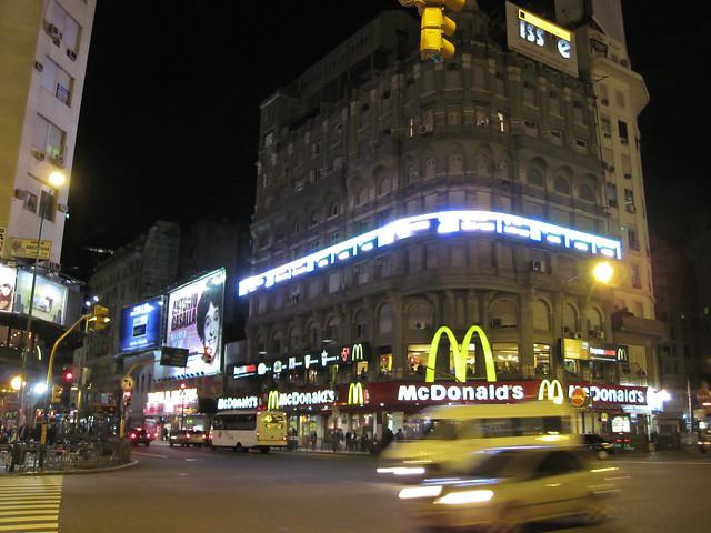 McDonalds - Fast Food na Argentina