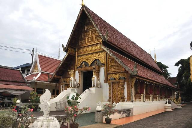 Wat Phra Sing Temple in Chiang Rai.