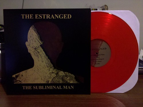 The Estranged - The Subliminal Man LP - Red Vinyl /200 by factportugal