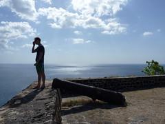 Overlook top of Pigeon Island