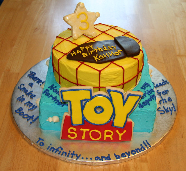 Toy Story Cake | This was for a co-worker's son who turned 3 ...