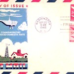 Fluegel Cover: First Day Airmail Comemorative