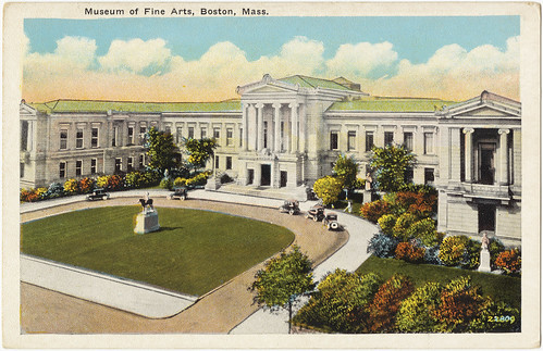 Museum of Fine Arts, Boston, Mass. [front]