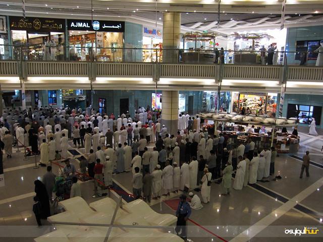 Tarawih in Abraj Al Bait Mall