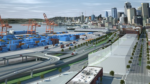 SR 99 tunnel south portal concept