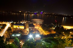 night scene in Quebec City