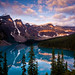 """Moraine Lake """"Patches of Light"""""""