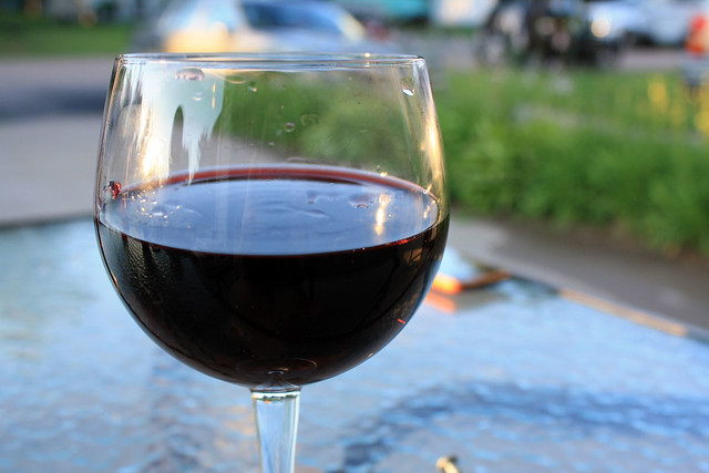 Wine with a friend (0721) from Flickr via Wylio