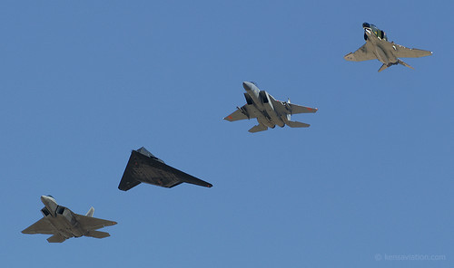 "Holloman AFB ""Heritage"" Flight"