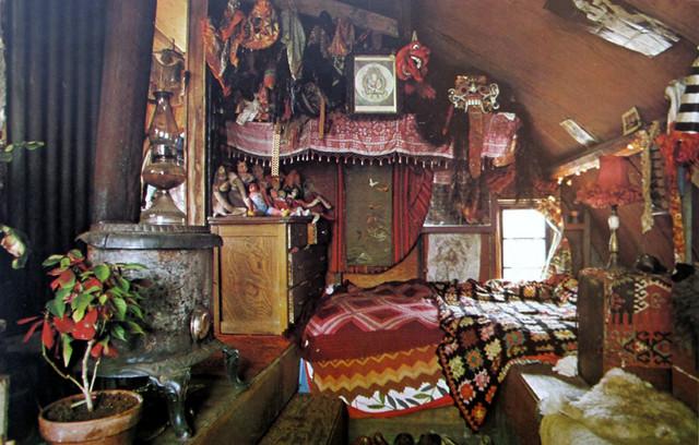 Houseboat Interior.