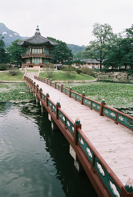 Hyangwonjeong, Gyeongbokgung, Seoul, South Korea