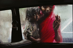 Beggar Girl, Bombay, India, 1993, by Steve McCurry