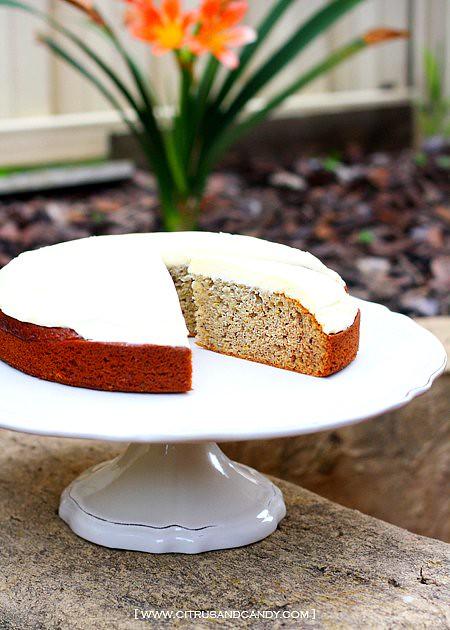 Chocolate Banana Cake With Rum Cream Cheese Frosting Recipe ...
