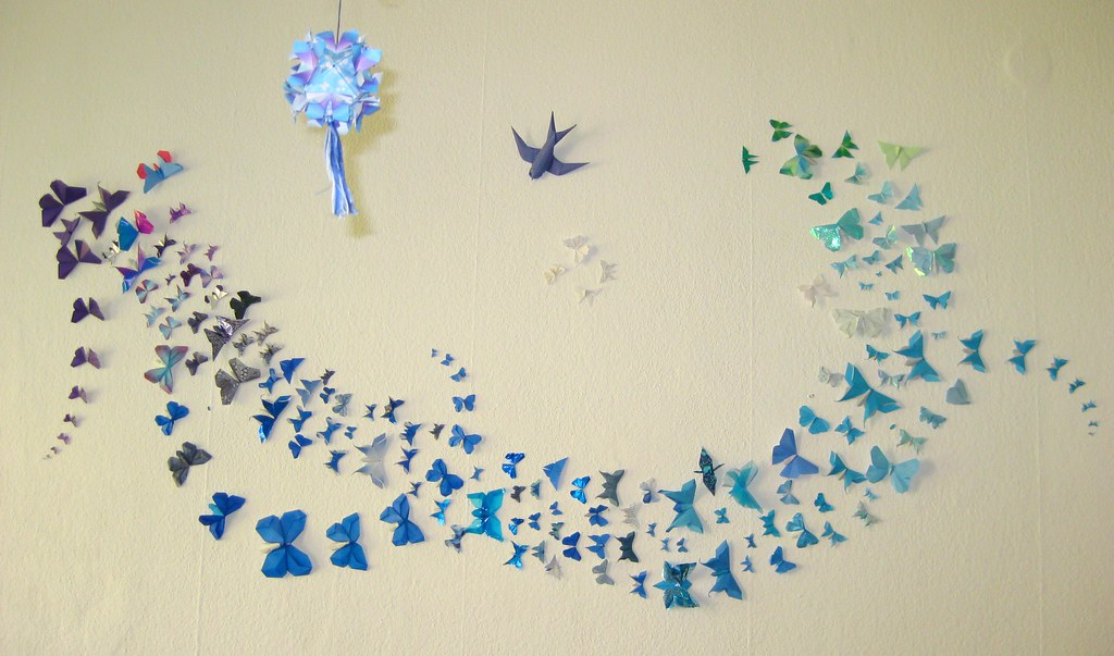 Butterfly Decoration New