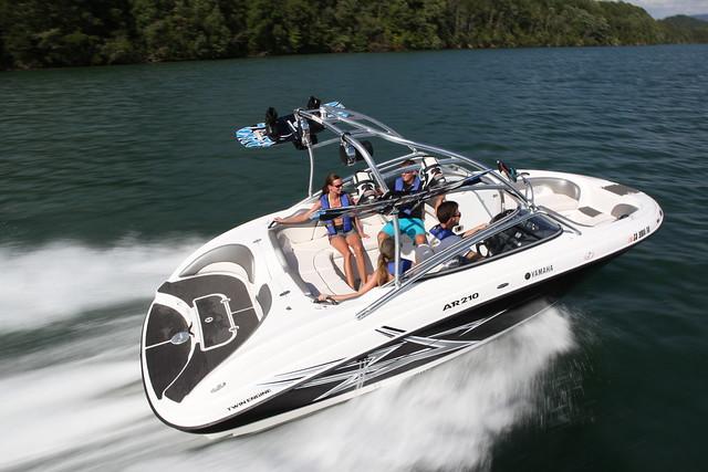 Yamaha Ar Boat Test