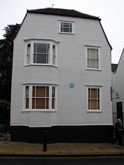 Photo of Edward Bright blue plaque