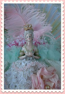 Opulent Marie Antoinette Tussie Mussie