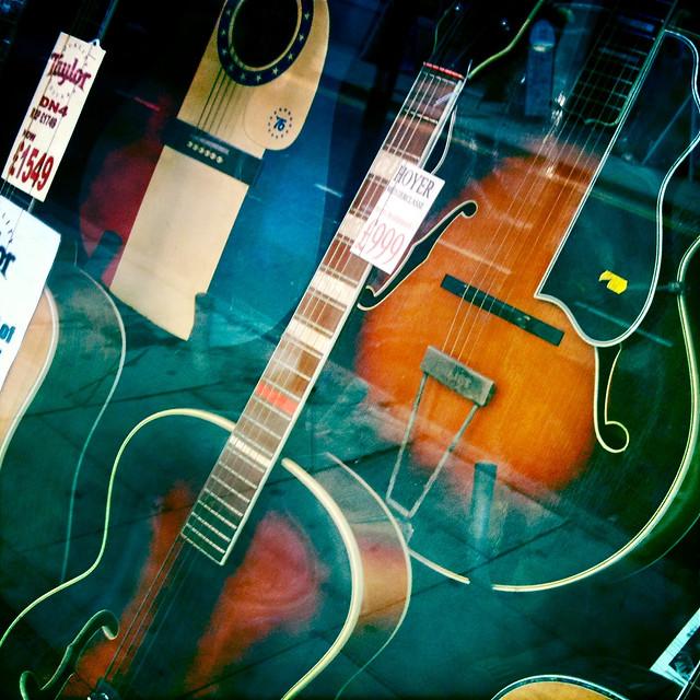 Photo:Tin Pan Alley Guitars By Stew Dean