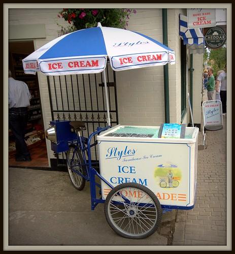 Ice-cream trike
