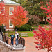 Reynolda Hall in the Fall