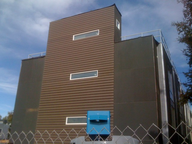 Trex siding project built by josh skoglund for loken for How big is a square of siding