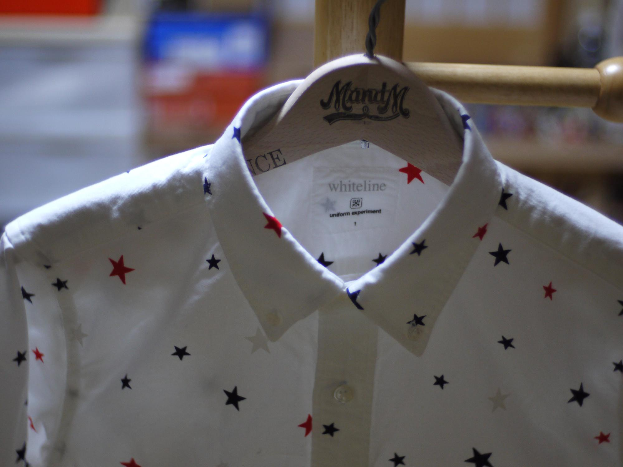 uniform experiment LS STAR PATTERN B.D SHIRT | Flickr - Photo Sharing!
