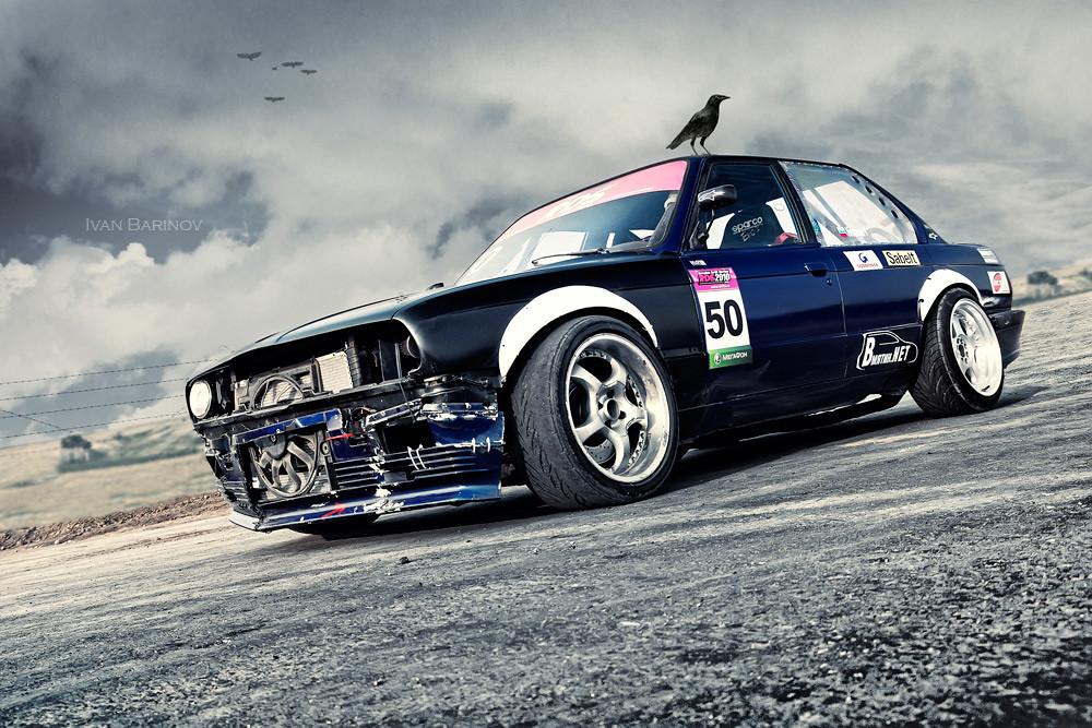 Cars For Sale Uk Drift: Russian Drift Car BMW E30