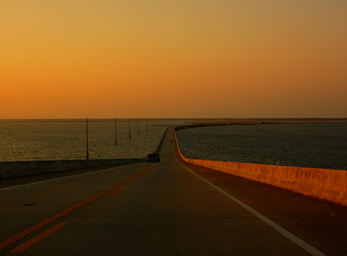 Leaving Dauphin Island, Alabama