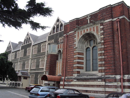 Music Centre of Christchurch, former Sacred Heart Convent