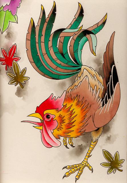 japanese rooster flickr photo sharing. Black Bedroom Furniture Sets. Home Design Ideas