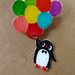 penguin brooch by joanneliuyunn