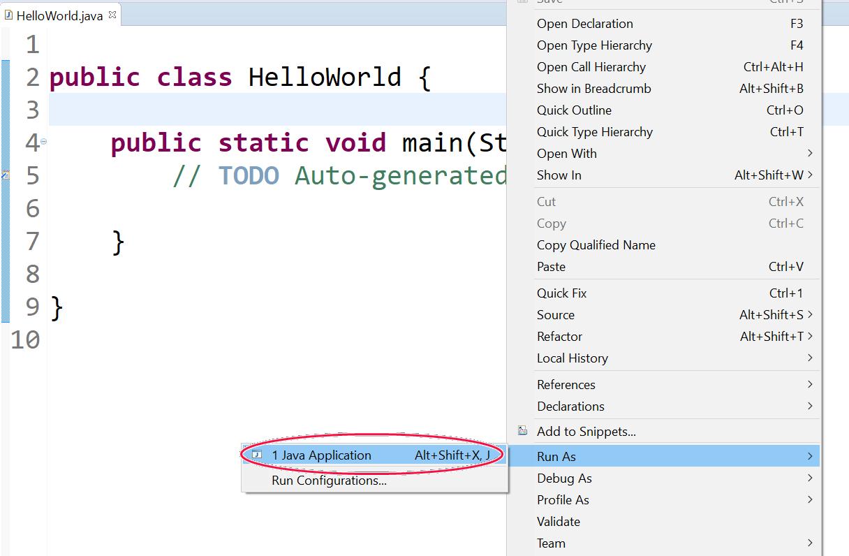 Java Core – Bài 2: Tạo project mới và làm quen với Eclipse