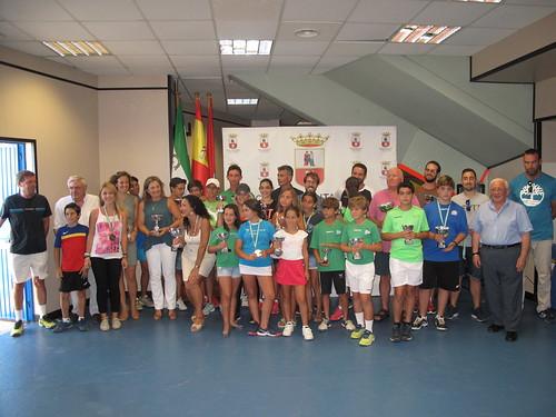 Entrega de premios del Torneo Local de Tenis Ciudad de Dos Hermanas