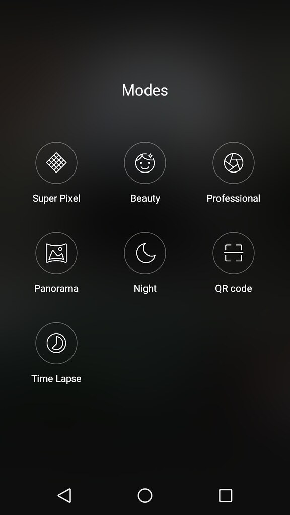 Wiko upulse User Interface
