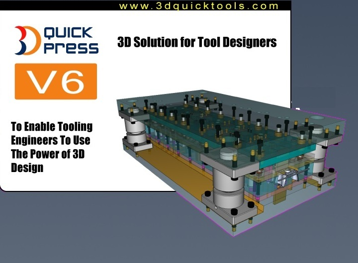 3DQuickPress v6.0.0 for SolidWorks 2011-2016 x64 full license