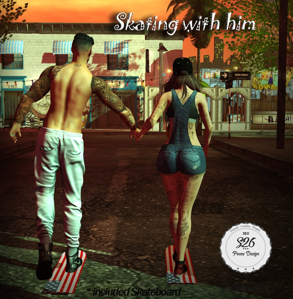 *** NEW -S26- Skating with Him *** - SecondLifeHub.com