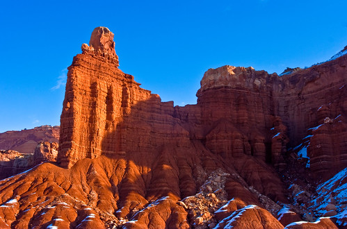 chimney rock, Capitol Reef NP
