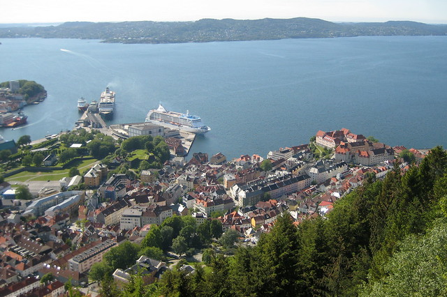 Cruise ships, Bergen