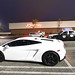 White Lamborghini Luxury Car 139