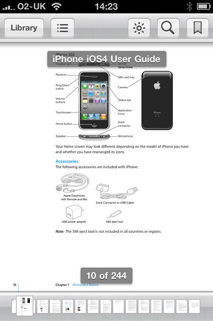 Apple Iphone User Instructions