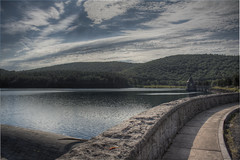 Saville Dam 2/Barkhamsted Reservoir - Barkhamsted, Connecticut - 1,000 Views and thanks to everyone!!!  Special thanks in a comment on page 8.
