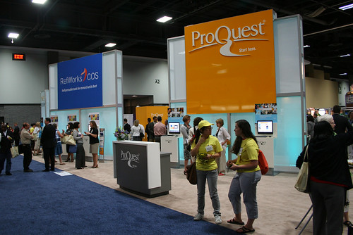 The ProQuest Booth